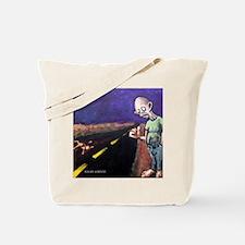 Cute Zombie book Tote Bag