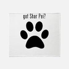 got Shar Pei? Throw Blanket
