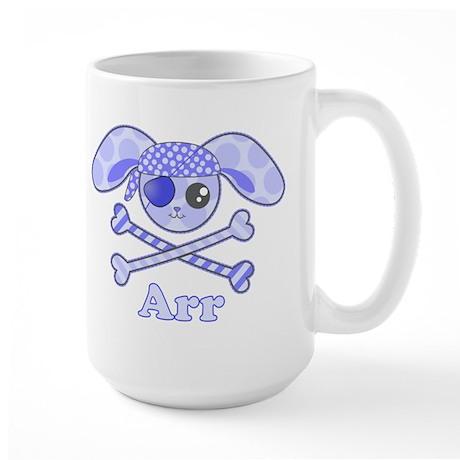 Cute Pirate Bunny Large Mug