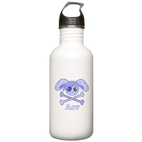 Cute Pirate Bunny Stainless Water Bottle 1.0L