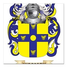 Woodson Family Crest (Coat of Arms) Square Car Mag