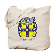 Woodson Family Crest (Coat of Arms) Tote Bag