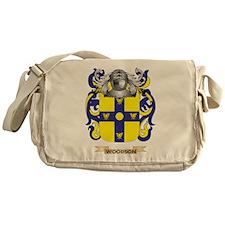 Woodson Family Crest (Coat of Arms) Messenger Bag