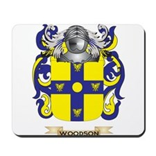 Woodson Family Crest (Coat of Arms) Mousepad