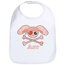 Cute Pirate Bunny Bib