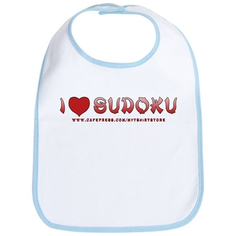 I love Sudoku Bib