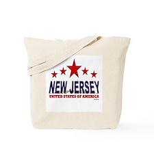 New Jersey U.S.A. Tote Bag