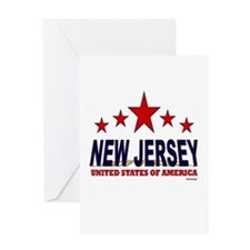 New Jersey U.S.A. Greeting Card