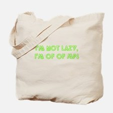 No more MP green Tote Bag