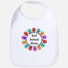 End Animal Abuse Bib
