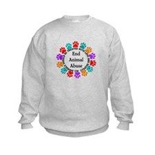 End Animal Abuse Sweatshirt