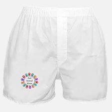 End Animal Abuse Boxer Shorts
