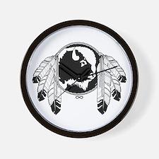 Native Art / First Nations Wall Clock
