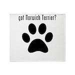 got Norwich Terrier? Throw Blanket