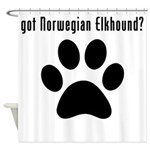 got Norwegian Elkhound? Shower Curtain