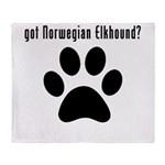 got Norwegian Elkhound? Throw Blanket
