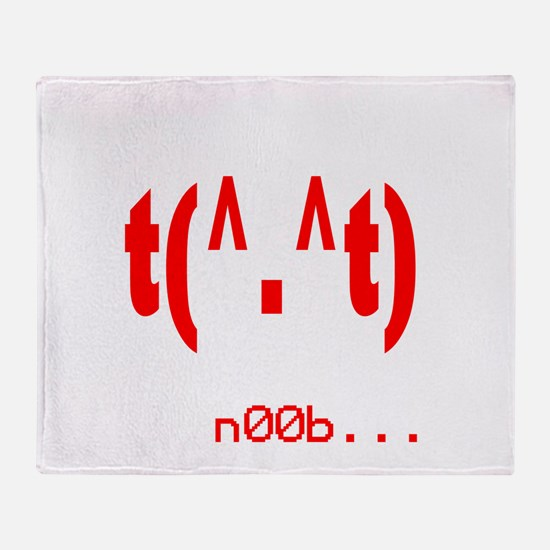 rudenoob.png Throw Blanket