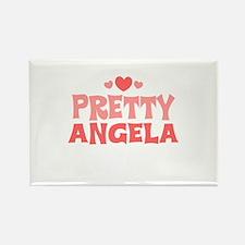 Angela Rectangle Magnet