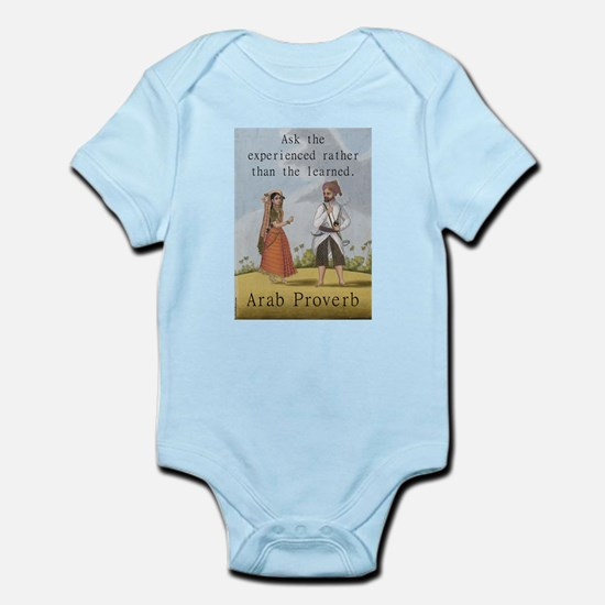 Ask The Experienced - Arab Infant Bodysuit