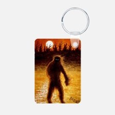 Big Foot at Dusk Keychains