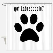 got Labradoodle? Shower Curtain