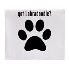 got Labradoodle? Throw Blanket