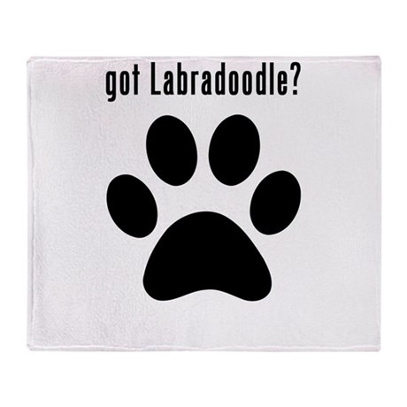 got Labradoodle? Throw Blanket