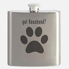 got Keeshond? Flask