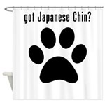 got Japanese Chin? Shower Curtain