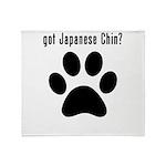 got Japanese Chin? Throw Blanket