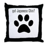 got Japanese Chin? Throw Pillow