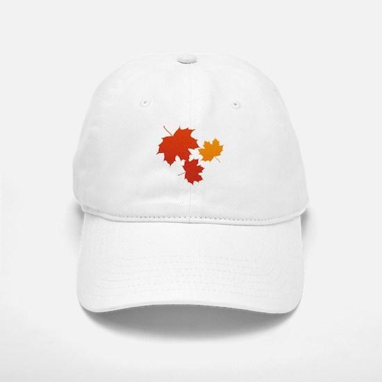 Autumn Leaves Baseball Baseball Baseball Cap