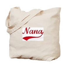 Vintage (Red) Nana Tote Bag