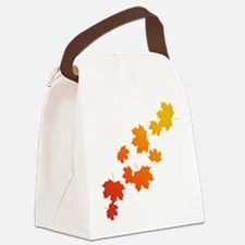 Autumn Leaves Canvas Lunch Bag
