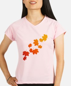 Autumn Leaves Performance Dry T-Shirt