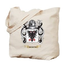 Worth Family Crest (Coat of Arms) Tote Bag