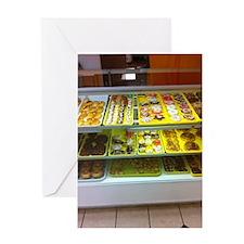 IFFM Bright Donut Store Greeting Card