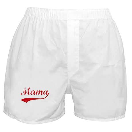 Vintage (Red) Mama Boxer Shorts