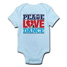Peace Love and Dance Body Suit