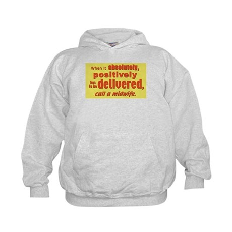 Midwife - has to be delivered Kids Hoodie