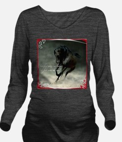 Four feet move your soul Long Sleeve Maternity T-S