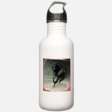 Four feet move your soul Water Bottle
