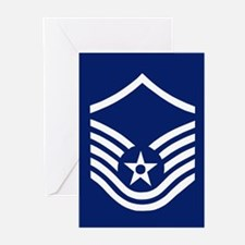 Master Sergeant Greeting Cards (Pack of