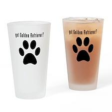 got Golden Retriever? Drinking Glass