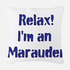 Marauder Woven Throw Pillow
