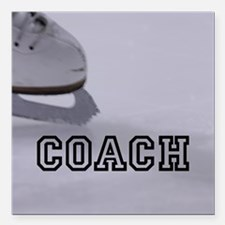 "COACH Square Car Magnet 3"" x 3"""