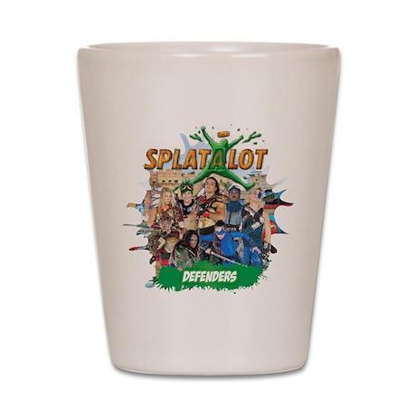 Splatalot 1 Shot Glass