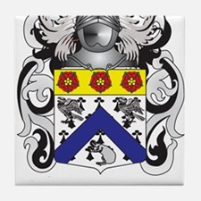 Wrigley Family Crest (Coat of Arms) Tile Coaster