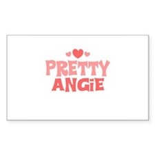 Angie Rectangle Decal