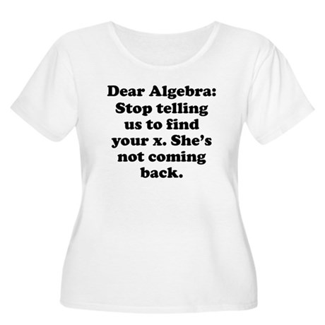 Dear Algebra Plus Size T-Shirt